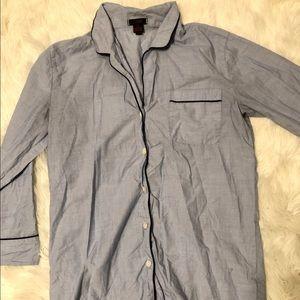 Jcrew Sleep Shirt